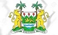 Sierra Leone Coat of Arms. 3D Illustration.